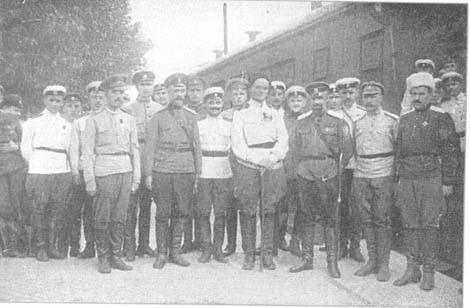 Белая Армия в Белгороде