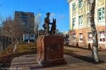 Памятник милиционеру-кинологу Фёдору Хихлушке