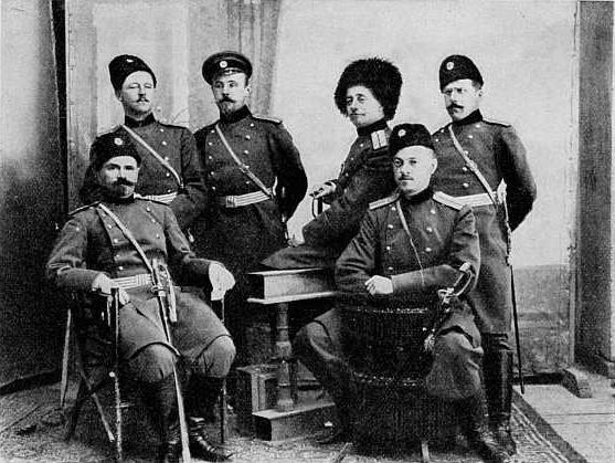 Офицерский состав 5-й батареи 31-й арт. бригады